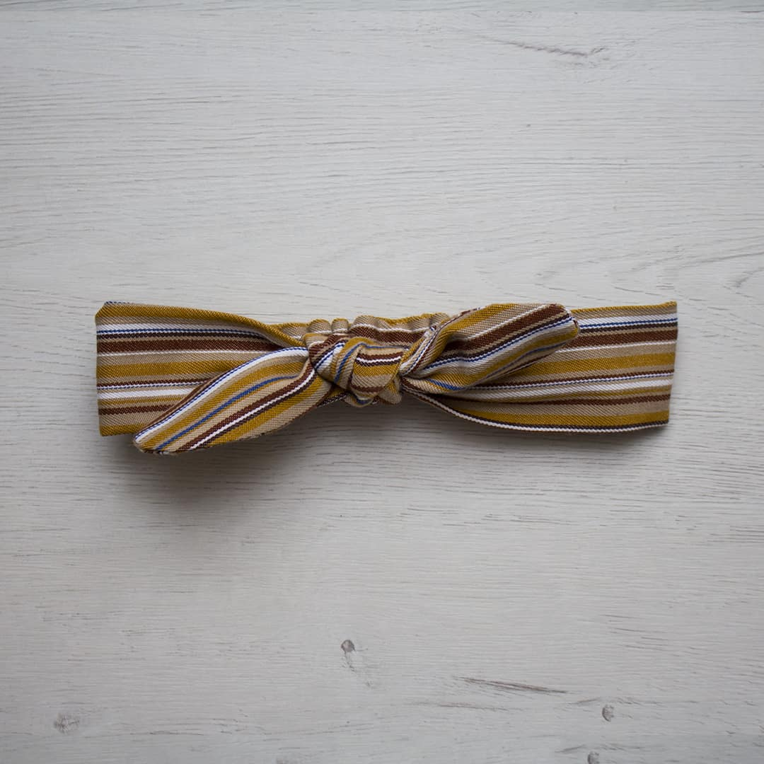 turbante nudo lazo