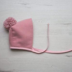 capota lana rosa