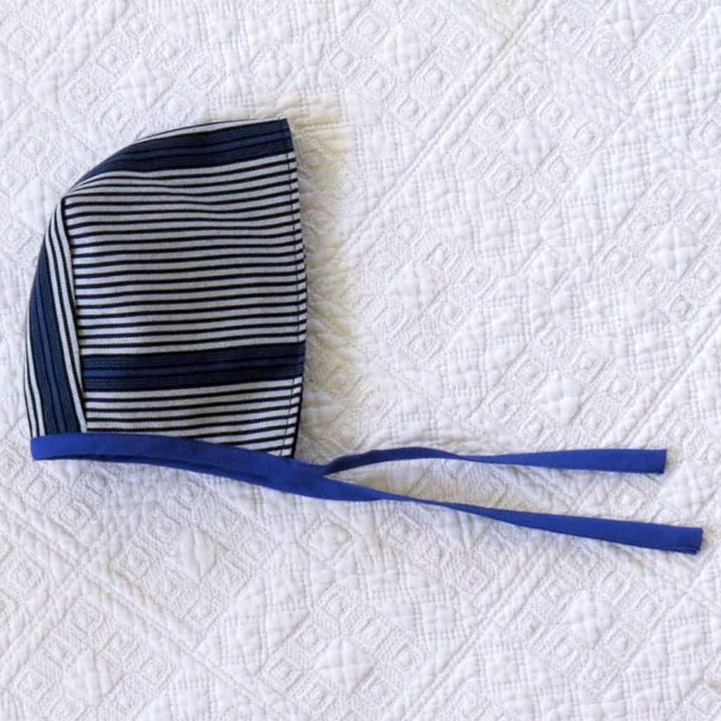 capota rayas azul