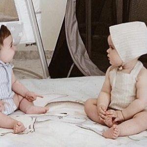 capota lino bebé