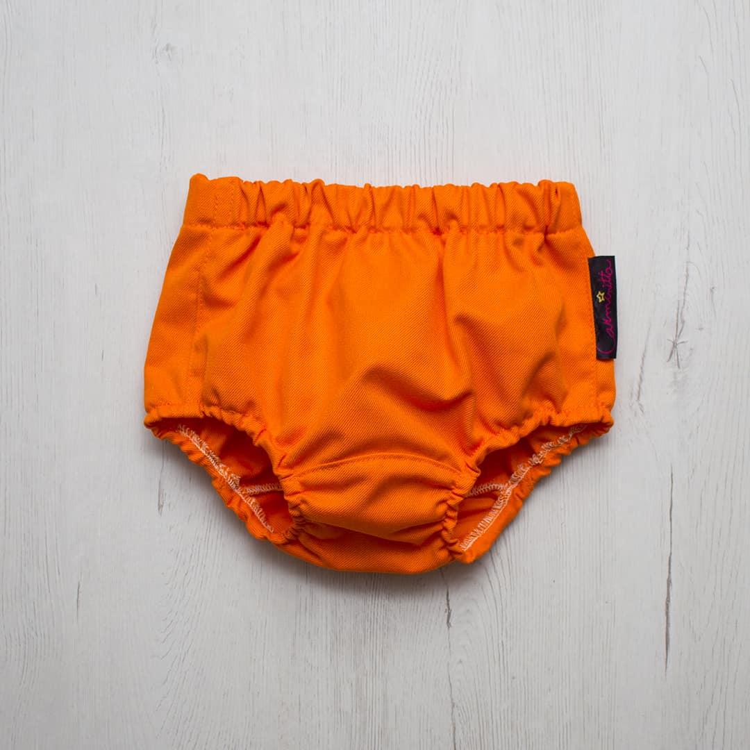 culotte niño naranja