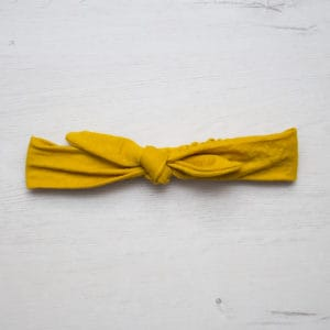 turbante mustard