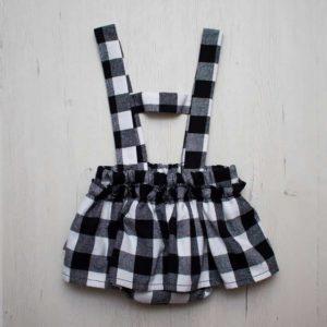 ranita dress cuadros