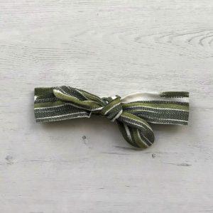 turbante verde oliva