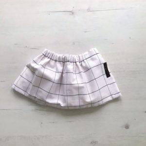 falda para bebé