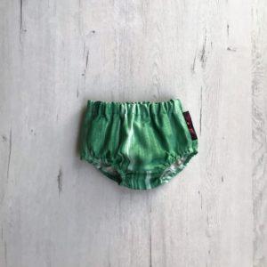 cubrepañal verde