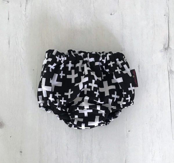 culotte negro cruces