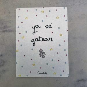 tarjetas bienvenida bebé