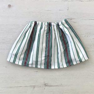 falda formentera verde
