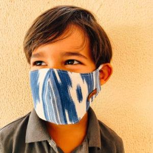 mask azul